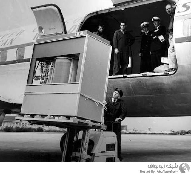 قرص IBM 360 بمساحة 3.75 ميغابايت فقط