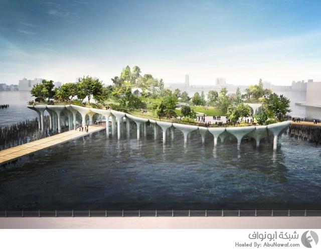 جزيرةملياردير خيالية مليون دولار نهر