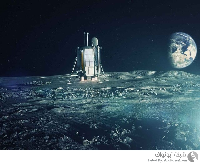 سطح القمر شعر دفن فضاء