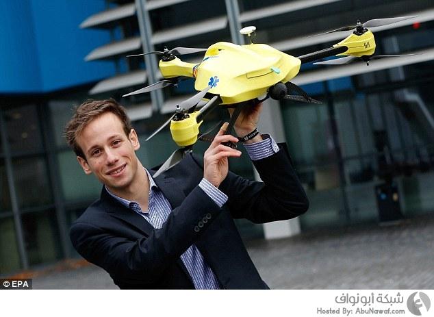 طائرة إسعاف بدون طيار لإنقاذ حياة المرضى