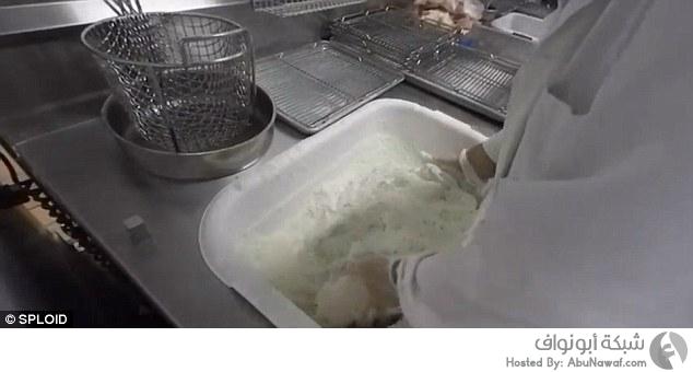 """جولة في مطبخ """"KFC"""" 1"""