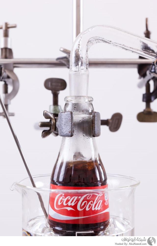 آلة بسيطة لتحويل الكوكا كولا لمياه شرب نظيفة
