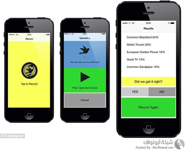 """Warblr"" تطبيق جديد لتمييز أصوات الطيور"