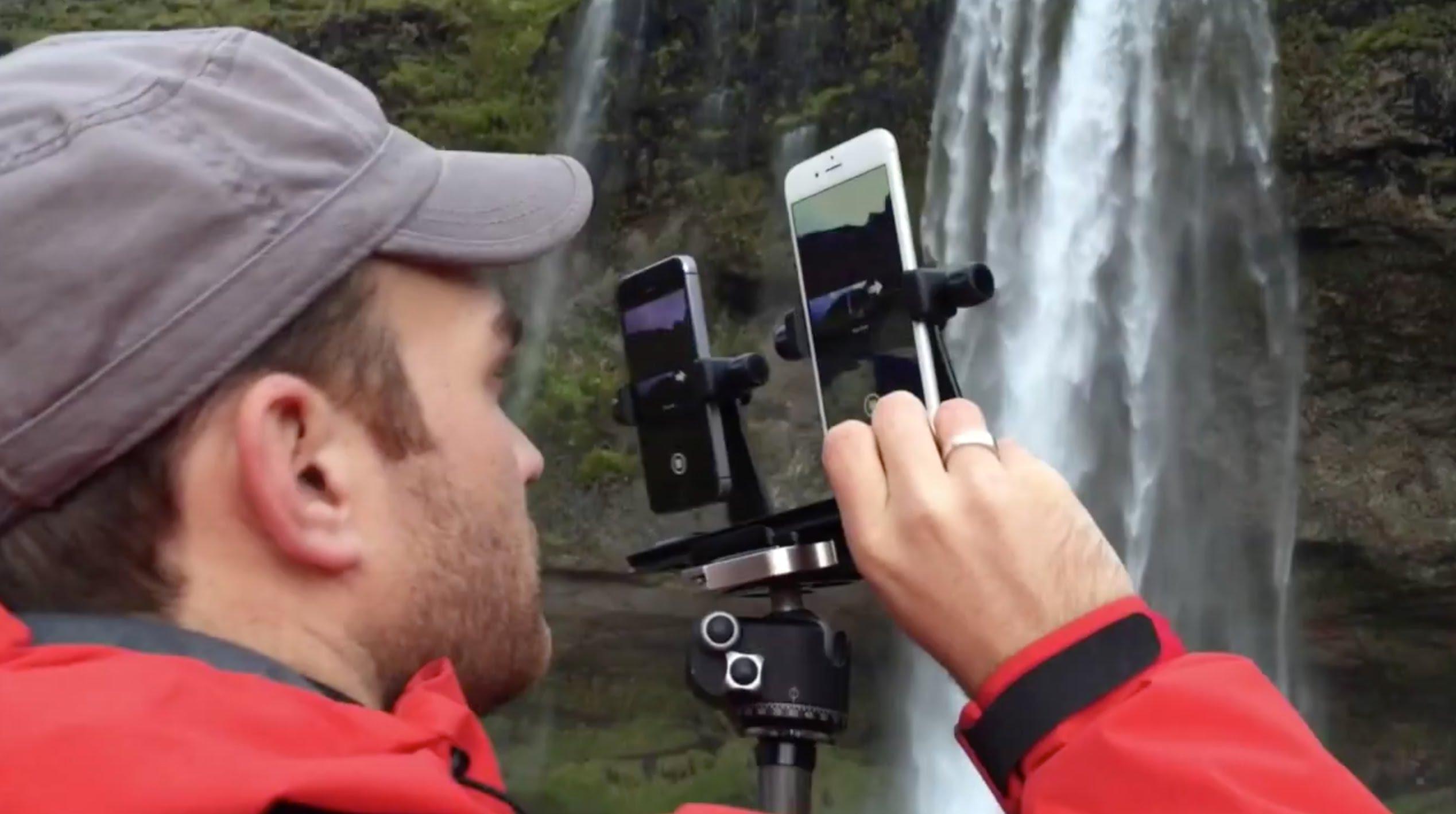 تصوير الحياة الطبيعية في آيسلندا بواسطة أيفون 5s وأيفون 6 بلس
