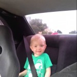 ردة فعل غير متوقعة لطفل على السرعة العالية 1