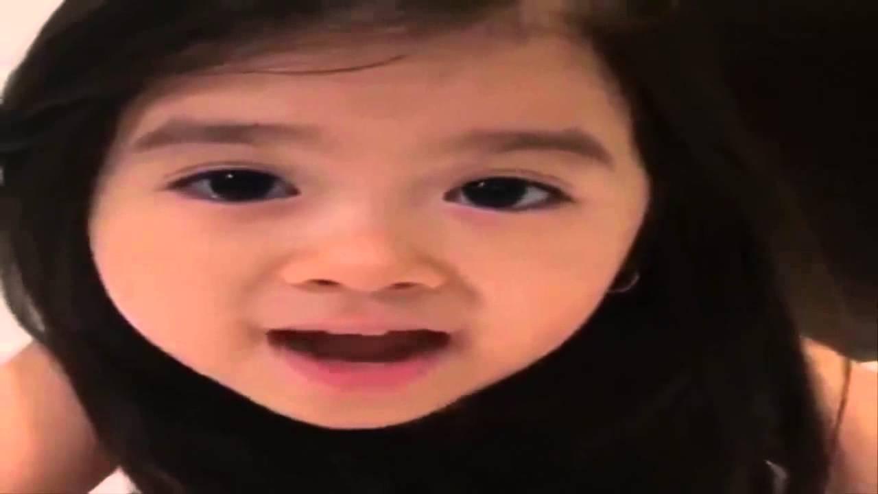 طفلة كورية تنطق العربية