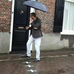 بيت نصفه في هولندا ونصفه الثاني في بلجيكا