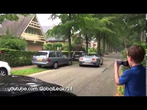 التهور يؤدي لتحطيم سيارة فيراري نادرة..! (فيديو)