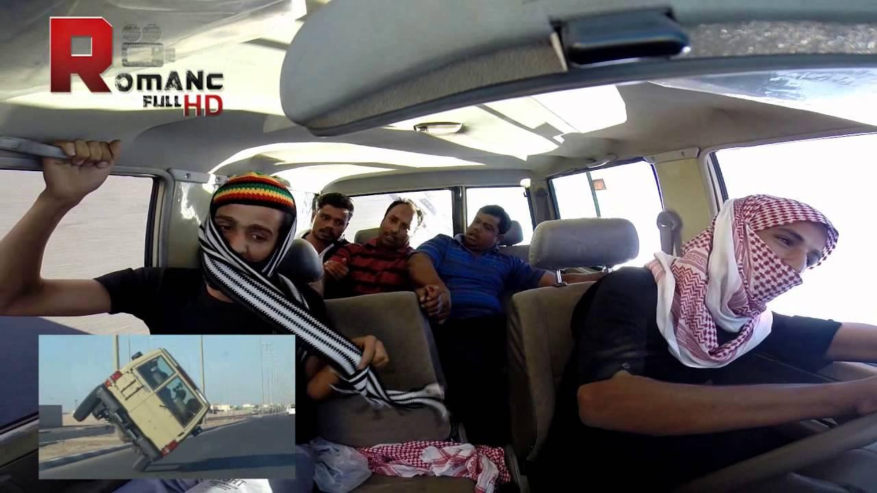 شباب سعوديون يركبون عمال ويرفعون فيهم (فيديو)
