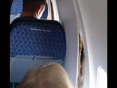 لحظات رعب عاشها ركاب طائرة هبطت إضطراريا.. (فيديو)