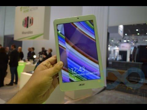 استعراض الجهاز اللوحي Acer Iconia Tab 8W.. (فيديو)