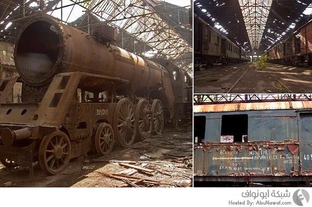 القطارات النازية
