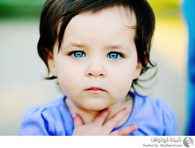 عيون ملونة