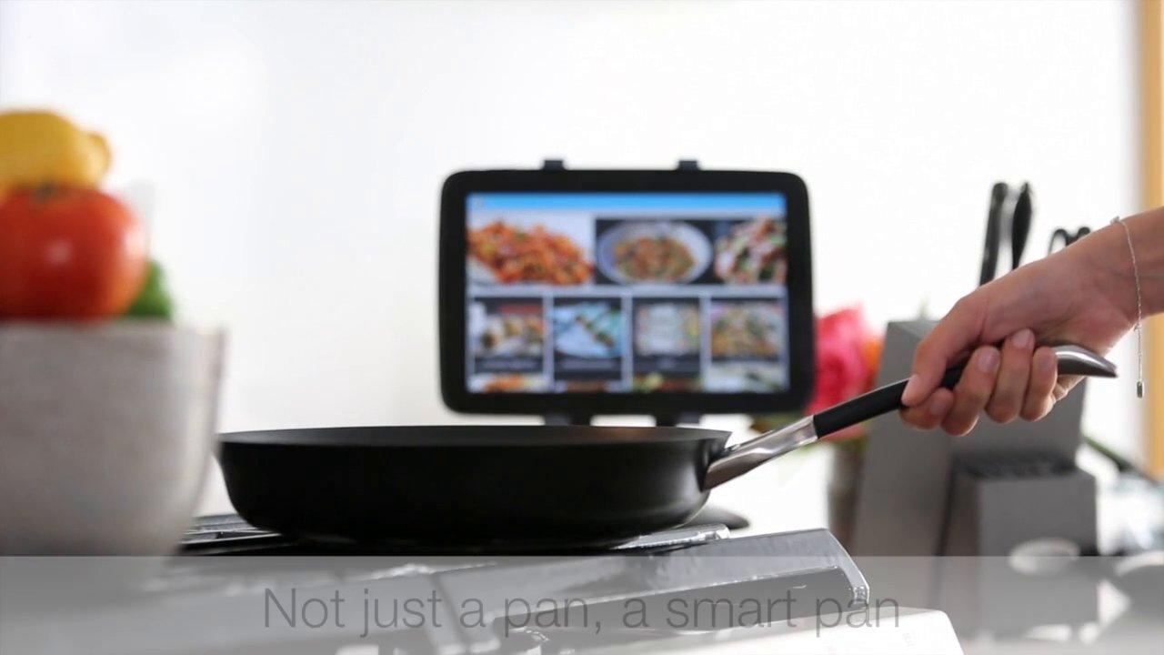 """""""SmartyPans"""" الطهي أسهل مع أول مقلاة ذكية"""