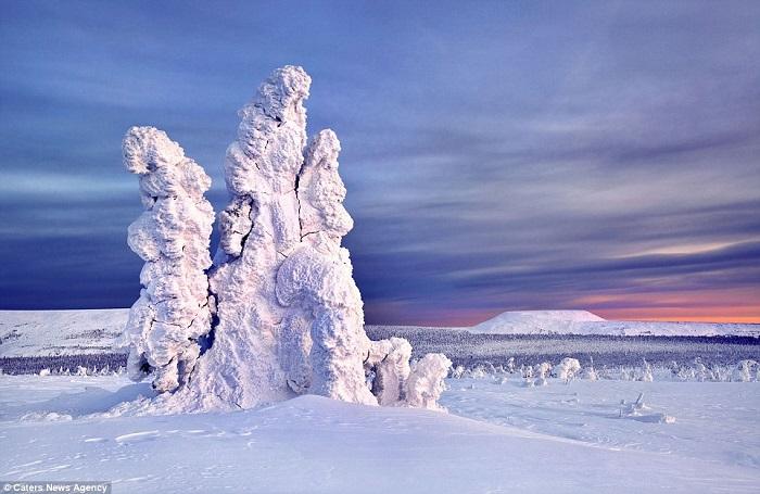 تماثيل جليدية4
