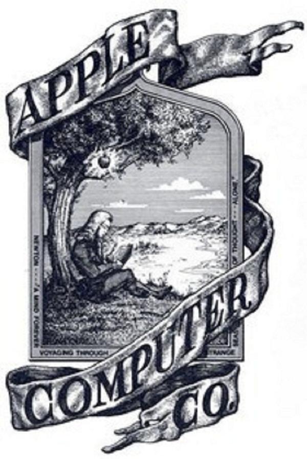شعار apple القديم