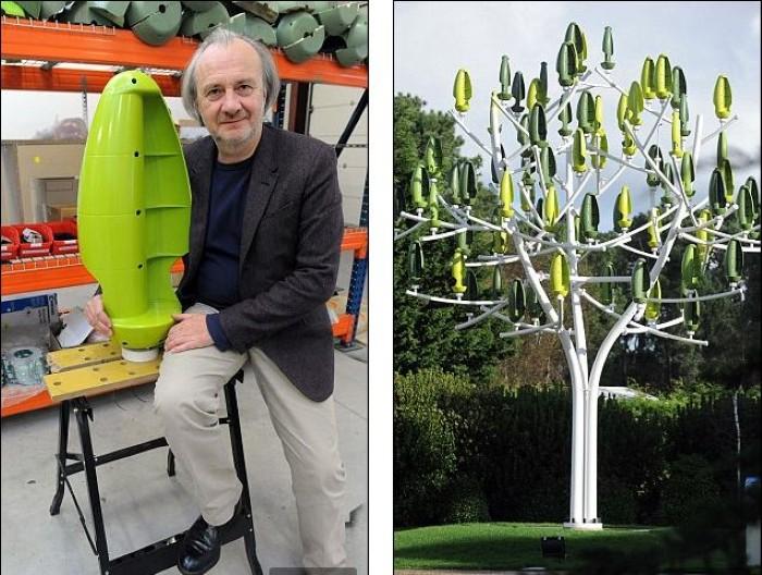 شجرة صناعية لتوليد الكهرباء