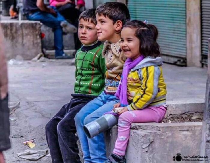 معاناة أطفال سوريا