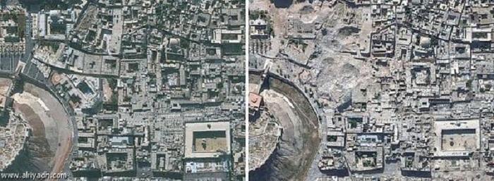 المواقع الأثرية السورية
