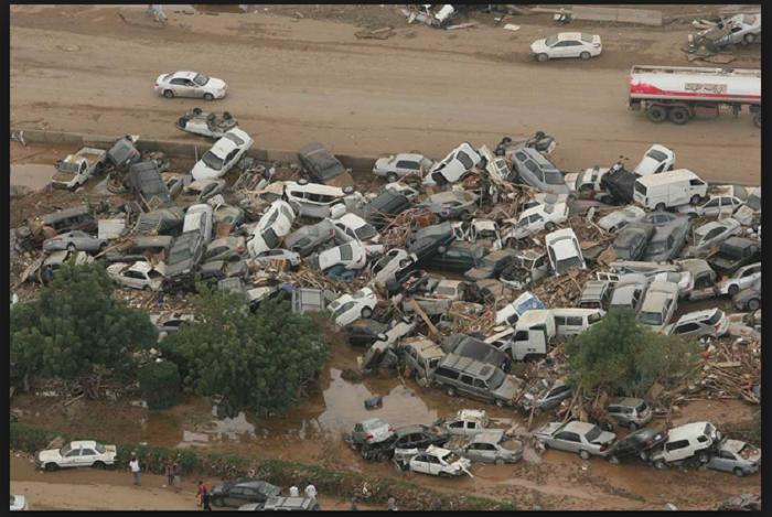 فيضانات جدة