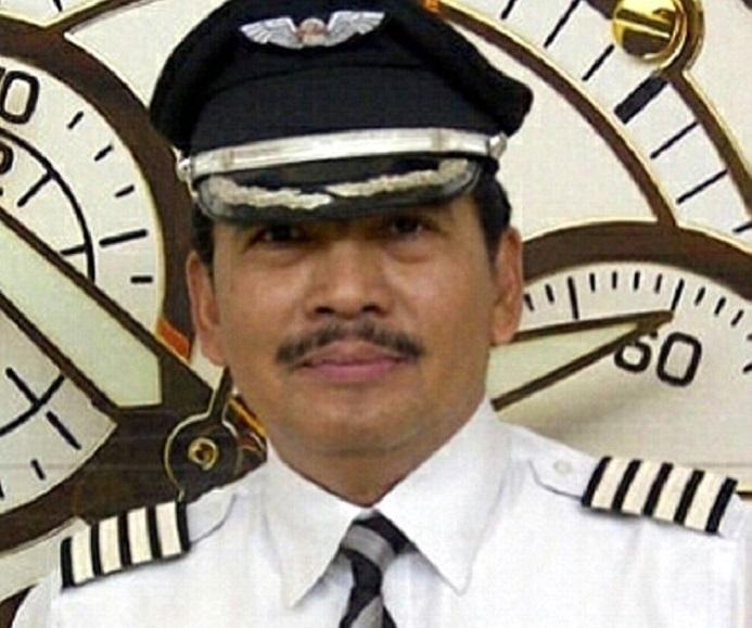 كابتن الطائرة الإندونيسية الماليزية المفقودة