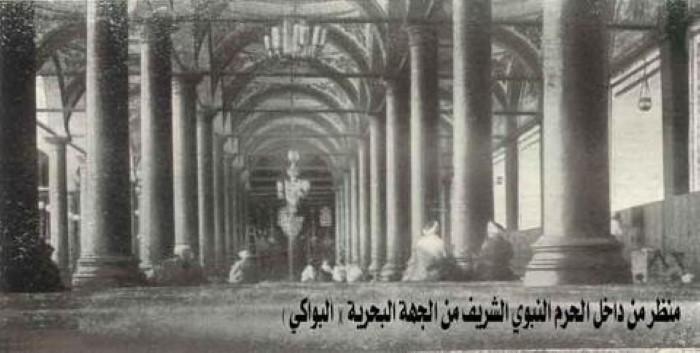 صورة نادرة لل المسجد النبوي قديماً