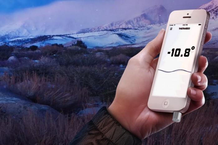 ميزان الحرارة Thermodo للهواتف الذكية
