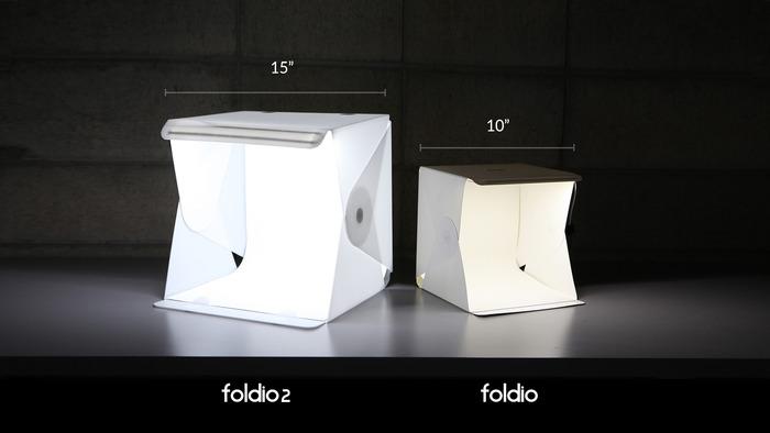 استوديو Foldio2 النقال