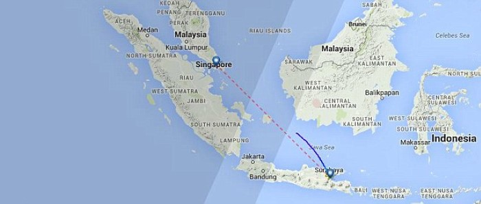 طيران أسيا الطائرة الماليزية المفقودة