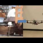 المروحية الرباعية ذاتية التحكم