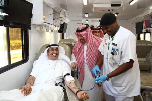 STC تختتم حملة التبرع بالدم