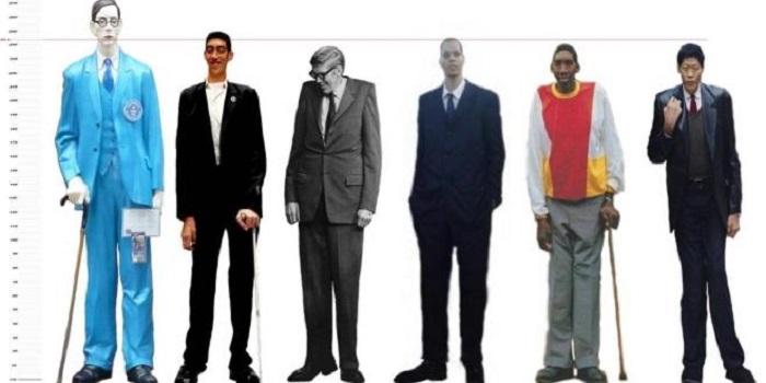 أطول رجال