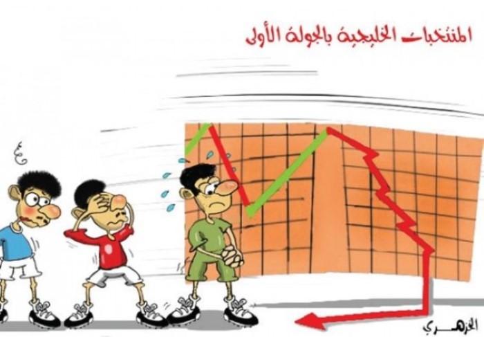 كاريكاتير صحيفة المدينة (السعودية)  يوم الثلاثاء 13 يناير 2015