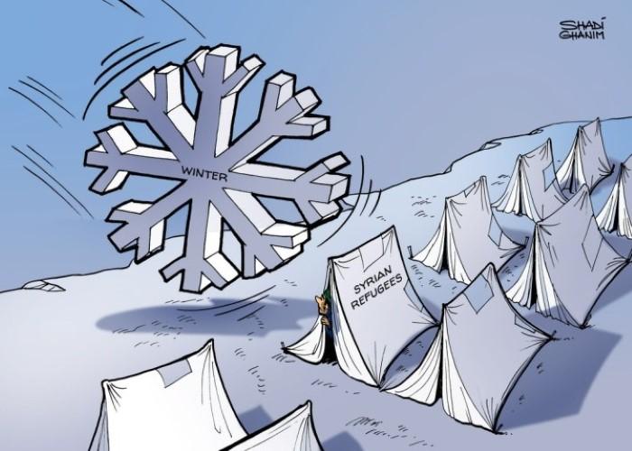 كاريكاتير ذا ناشيونال (الإمارات)  يوم الأحد 11 يناير 2015