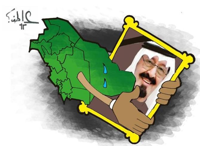 كاريكاتير صحيفة سبق (السعودية)  يوم الإثنين 26 يناير 2015