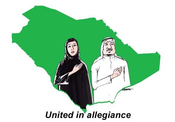 كاريكاتير جريدة سعودي جازيت (السعودية)  يوم الأحد 25 يناير 2015