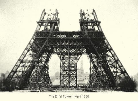 ذكرى بناء برج إيفل