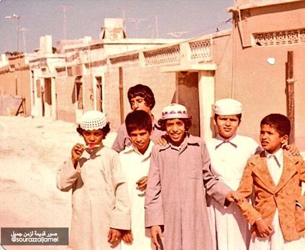 أطفال في قطر