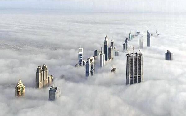 الضباب في الإمارات