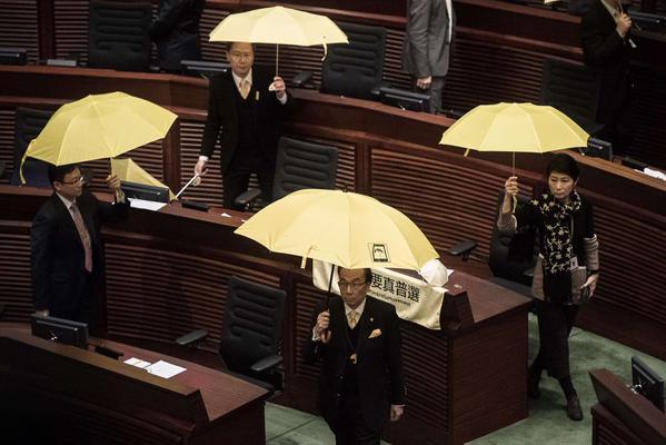 احتجاجات مجلس هونغ كونغ