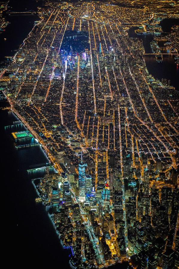مدينة نيويورك من الجو