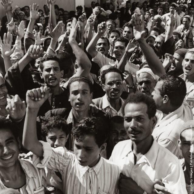 مظاهرة مصرية