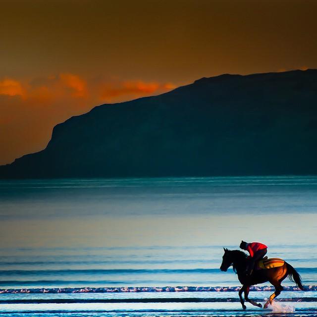 شاطئ إيرلندا