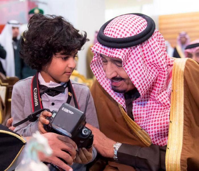 أصغر مصور سعودي متعب الحضيف