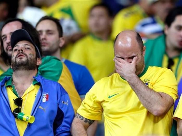 البرازيل كأس العالم 7-1 ألمانيا