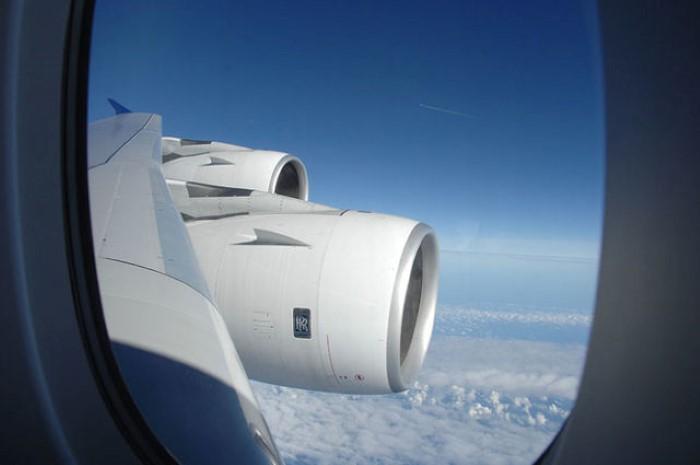 نافذة الطائرة رحلة سفر