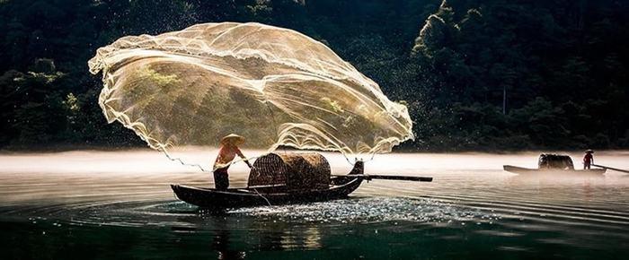 صور مميزة و مذهلة تم التقاطها في عام 2014 ، صيد الأسماك