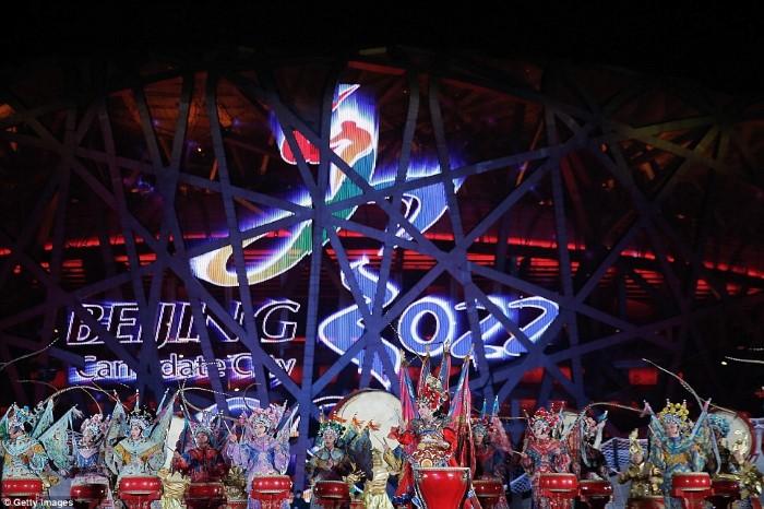 الصين رأس السنة 2015 ألعاب نارية العام الجديد