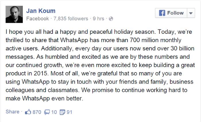 Whatsapp تطبيق أرقام احصائيات