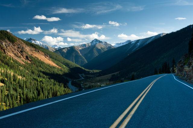 """طريق U.S 550 """"الطريق السريع مليون دولار""""، ولاية كولورادو الأمريكية"""